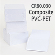 Composite PVC-PET CR-80 30 mil Cards