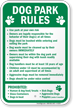 Rules Sign