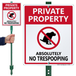 No Poop LawnBoss® Sign & Stake Kit