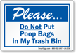 Dumpster Rule Label