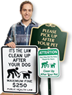 Dog Poop and Leash Laws